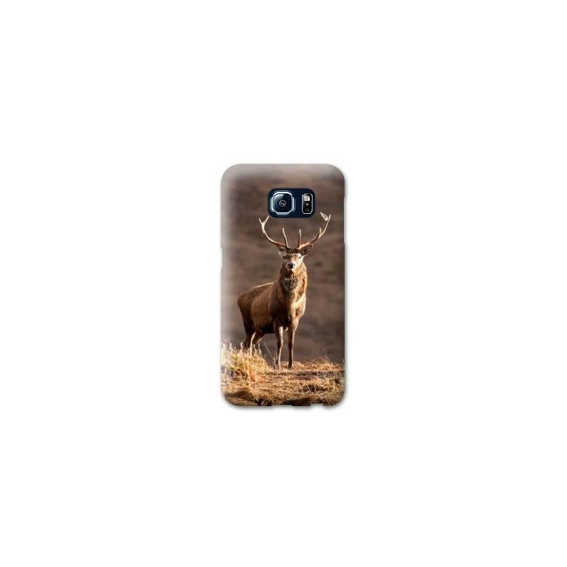 Coque Samsung S6 EDGE chasse peche