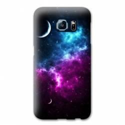Coque Samsung Galaxy S7 Espace Univers Galaxie