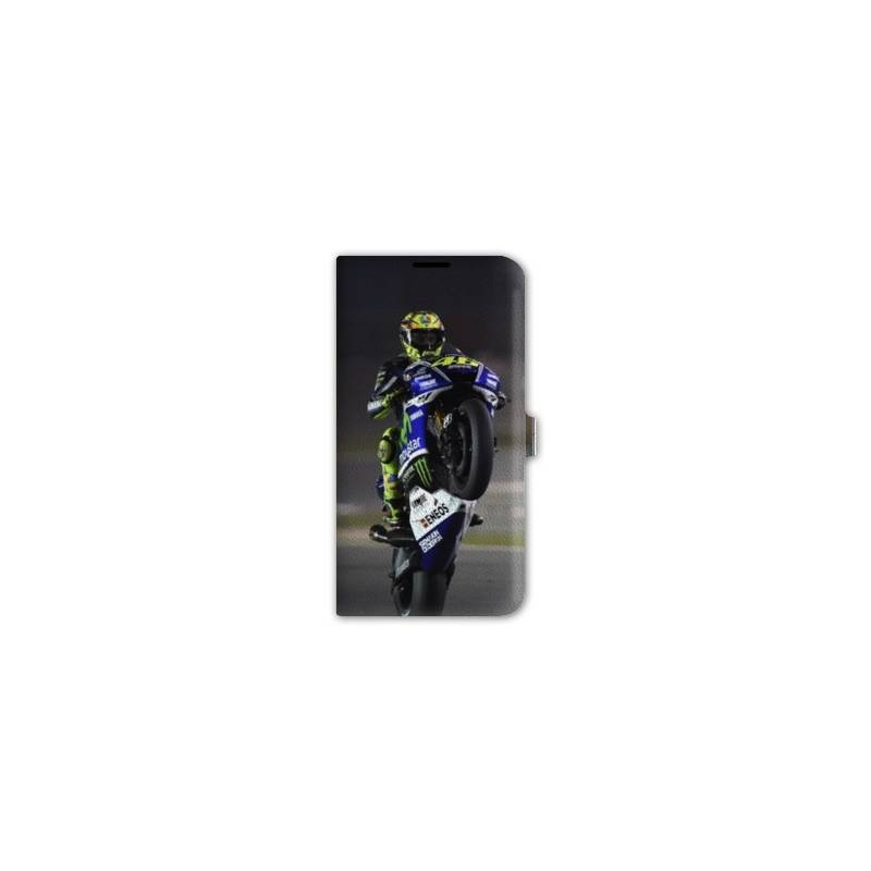 Housse cuir portefeuille iphone 6 6s moto for Housse cuir iphone 6