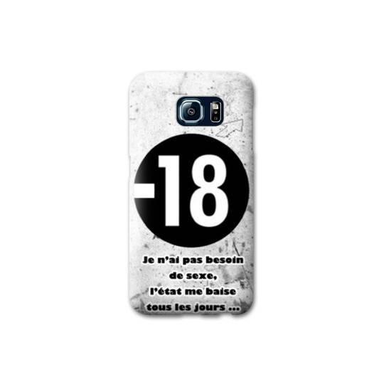 Coque pour Samsung Galaxy S6 Humour