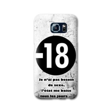 Coque Samsung Galaxy S6 Humour