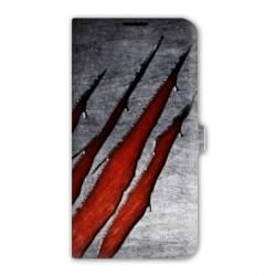 Housse cuir portefeuille Iphone 6 plus / 6s plus Texture