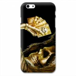 Coque Iphone 7 Plus / Pro tete de mort