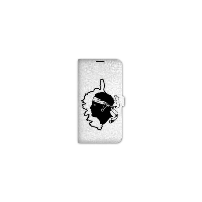 Housse cuir portefeuille Iphone 7 Corse