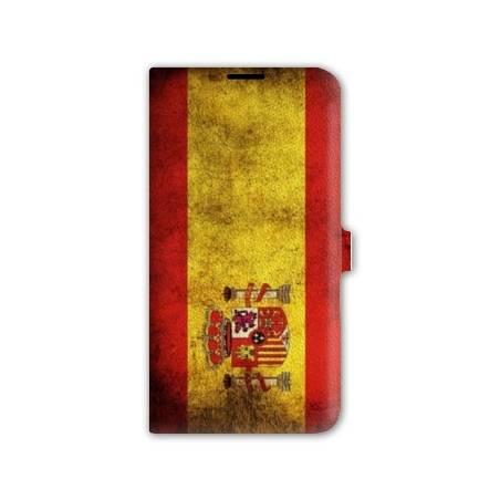 Housse cuir portefeuille Iphone 7 Espagne