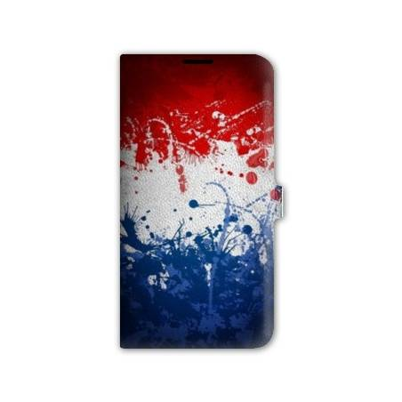 Housse cuir portefeuille Iphone 7 France