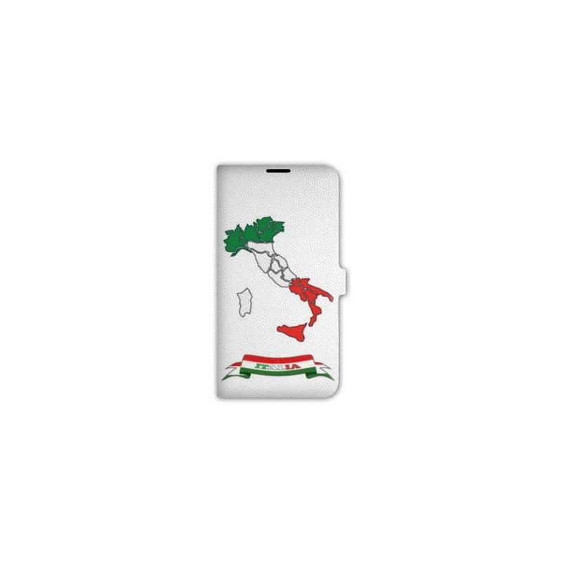 Housse cuir portefeuille pour iphone 7 Italie