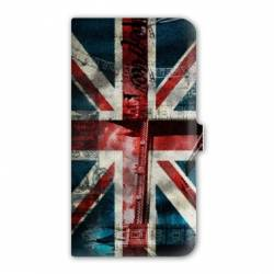 Housse cuir portefeuille Iphone 7 Angleterre