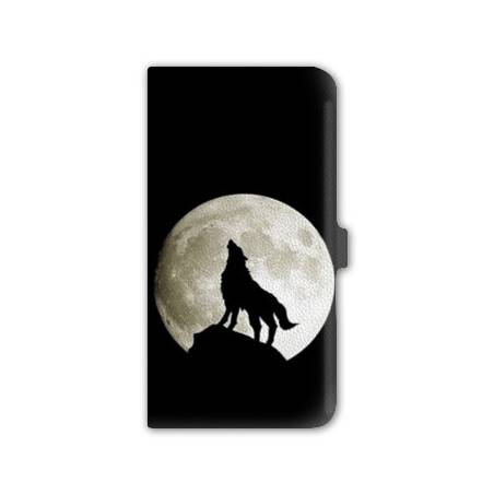 Housse cuir portefeuille Iphone 7 animaux 2