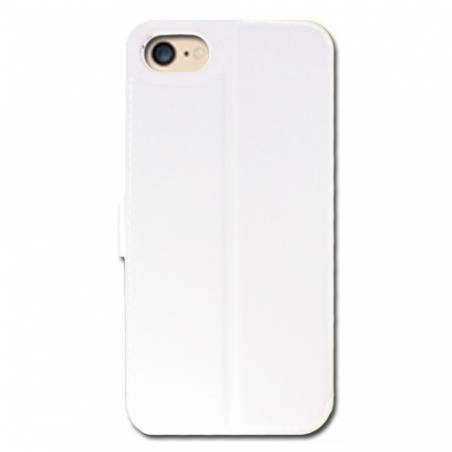 Housse cuir portefeuille Iphone 7 savane