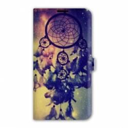 Housse cuir portefeuille Iphone 7 Zen