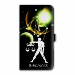 Housse cuir portefeuille Iphone 7 signe zodiaque
