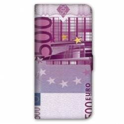 Housse cuir portefeuille Iphone 7 Money