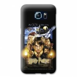 Coque Samsung Galaxy S6 Edge WB License harry potter D
