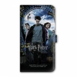 Housse cuir portefeuille Iphone 7 WB License harry potter D