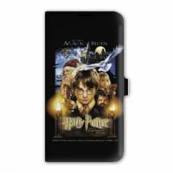 Housse cuir portefeuille Iphone 7 WB License harry potter D
