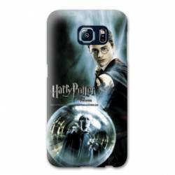 Coque Samsung Galaxy S6 Edge WB License harry potter C