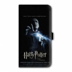 Housse cuir portefeuille Iphone 7 WB License harry potter C