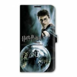 Housse cuir portefeuille Iphone 7 WB License harry potter C