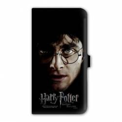 Housse cuir portefeuille Iphone 7 WB License harry potter A