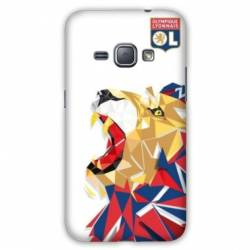 Coque Samsung Galaxy J3 (2016) WB License Olympique Lyonnais OL - lion color