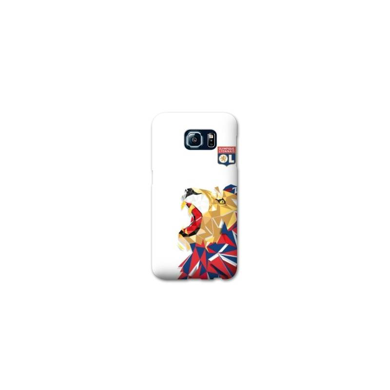 Coque Samsung Galaxy S7  License Olympique Lyonnais OL - lion color