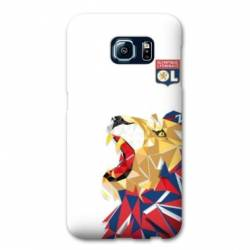 Coque Samsung Galaxy S6 Edge WB License Olympique Lyonnais OL - lion color