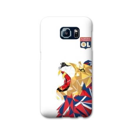 Coque Samsung Galaxy S6 Edge WB License Olympique Lyonnais OL - lion color