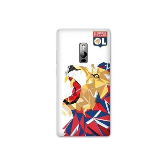 Coque OnePlus 2  License Olympique Lyonnais OL - lion color