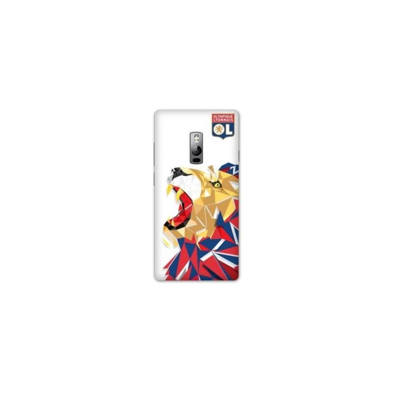 Coque OnePlus 2 WB License Olympique Lyonnais OL - lion color