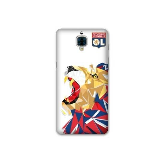 Coque OnePlus 3  License Olympique Lyonnais OL - lion color