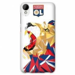Coque HTC Desire 825 WB License Olympique Lyonnais OL - lion color