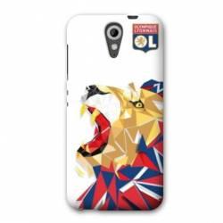 Coque HTC Desire 620 License Olympique Lyonnais OL - lion color