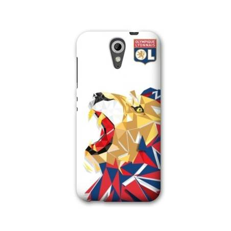 Coque HTC Desire 620 License Olympique Lyonnais OL - lion color
