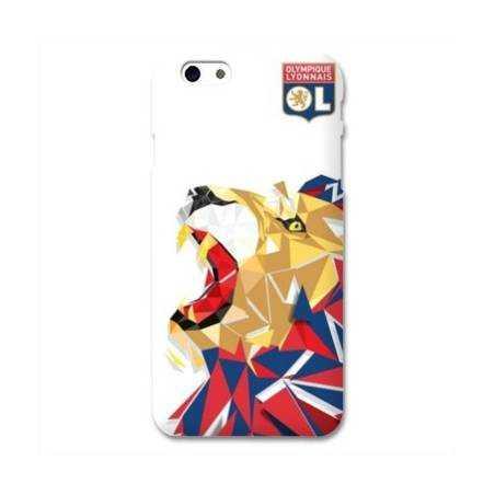 Coque iPhone 6 Plus / 6s Plus WB License Olympique Lyonnais OL - lion color
