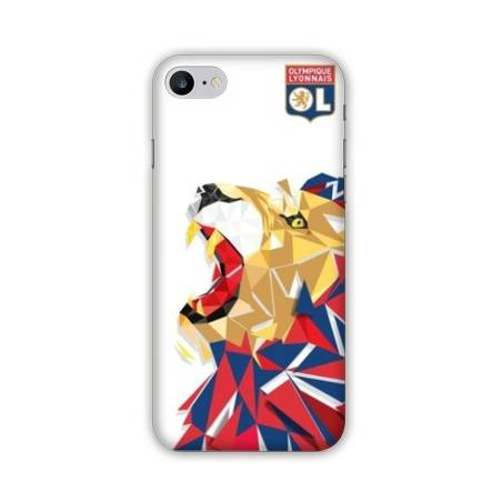 Coque Iphone 7 Plus WB License Olympique Lyonnais OL - lion color