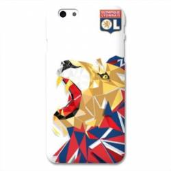 Coque iPhone 6 / 6s WB License Olympique Lyonnais OL - lion color