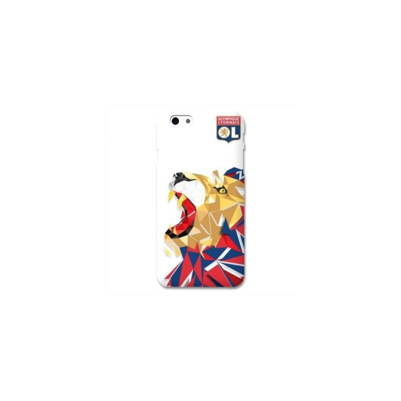 Coque iPhone 6 / 6s WB License Olympique Lyonnais OL - lion color