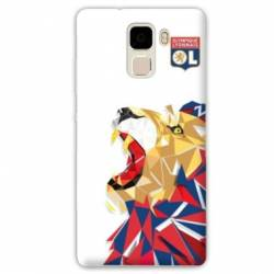 coque Huawei Honor 7 WB License Olympique Lyonnais OL - lion color