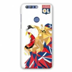 Coque Huawei Honor 8 License Olympique Lyonnais OL - lion color