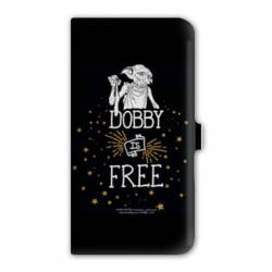 Housse cuir portefeuille iPhone 6 Plus / 6s Plus WB License harry potter dobby