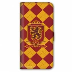 Housse cuir portefeuille iPhone 6 Plus / 6s Plus WB License harry potter ecole