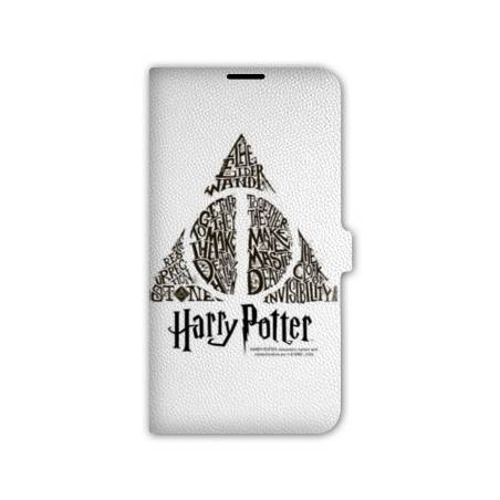 Housse cuir portefeuille iPhone 6 / 6s WB License harry potter pattern