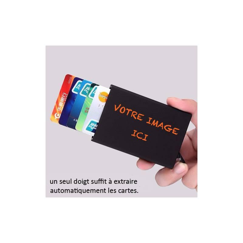 Porte Carte Homme Personnalisé En Aluminium Cokitec Coque Et - Porte carte aluminium