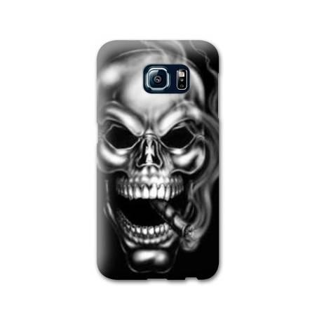 Coque Samsung Galaxy S8 Plus + tete de mort