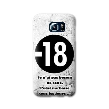 Coque Samsung Galaxy S8 Plus + Humour