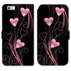 RV Housse cuir portefeuille Iphone 6 / 6s amour