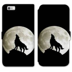 RV Housse cuir portefeuille Iphone 6 / 6s animaux 2
