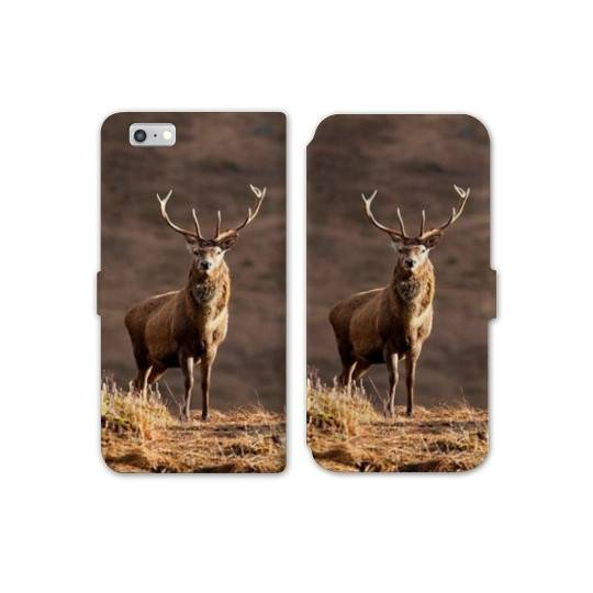 RV Housse cuir portefeuille Iphone 6 / 6s chasse peche