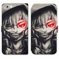 RV Housse cuir portefeuille Iphone 6 / 6s Manga - divers